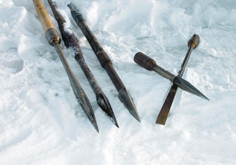 Ледоруб для зимней рыбалки своими руками